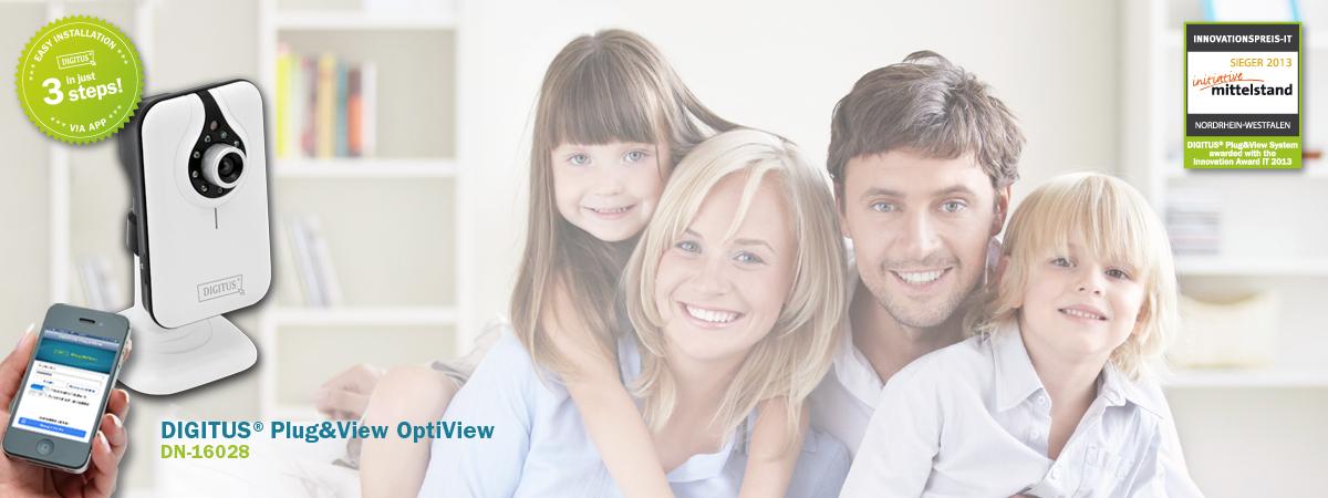 Plug & View Header DN-16028 Familie Inno