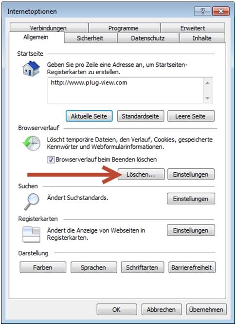Plug-View_Internetoptionen-PC