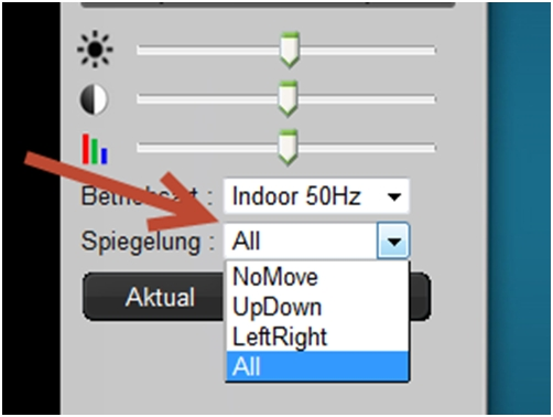 Plug-View_OptiArc-Einstellung-Richtung