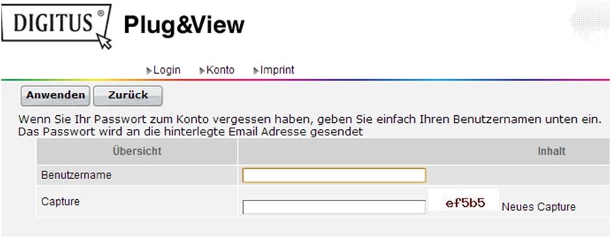 Plug-View_Passwort-vergessen